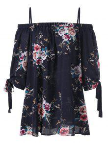 Blusa Floral Purp 225;s Fr 250;reo Tama 237;o o Azul De M Hombro 4xl wIZ6qItn