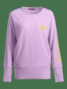 Sun Sudadera De Bordada Color Lightning S Malva Cloud qE74x5n8