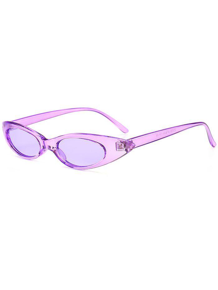 Anti UV Small Oval Sun Shades Sunglasses