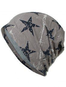 خفيفة الوزن رقيقة ستار مطبوعة قبعة صغيرة - صوان