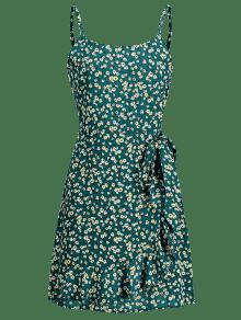 Mini Imitaci Mar S Floral Cami 243;n De Verde De Del Abrigo Ligero Vestido rR4wTSxnr