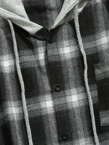 Con Xl Pecho Bolsillo El Negro De Camisa Con Control Capucha En Sqwfdvd