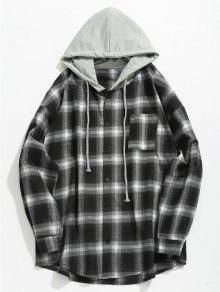 قميص الجيب الاختيار مقنعين - أسود Xl