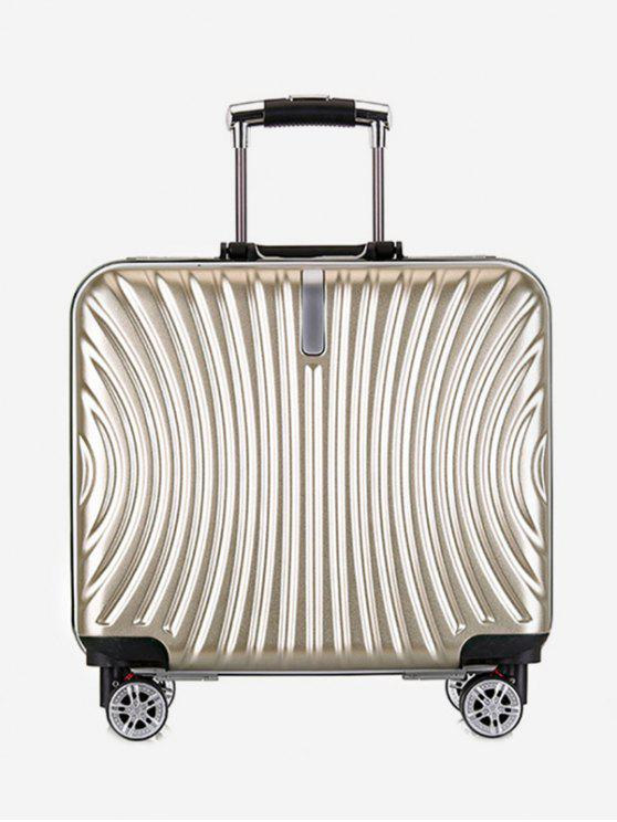 latest Functional Universal Wheel Travel Suitcase - GOLD