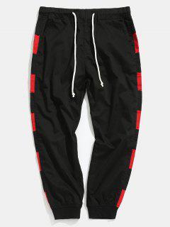 Side Contrast Nine Minutes Of Harem Pants - Black Xs