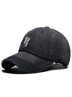 BAJO CONTROL Sombrero Snapback Bordado - Negro