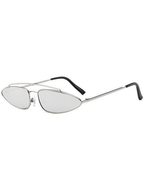 Stilvolle unregelmäßige Linse Crossbar Sonnenbrille - Wasser  Mobile