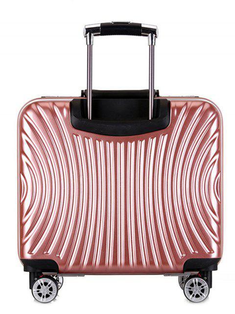 shop Functional Universal Wheel Travel Suitcase - PINK  Mobile