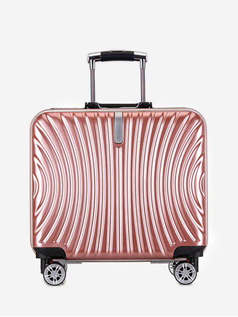 shop Functional Universal Wheel Travel Suitcase - PINK  Mobile