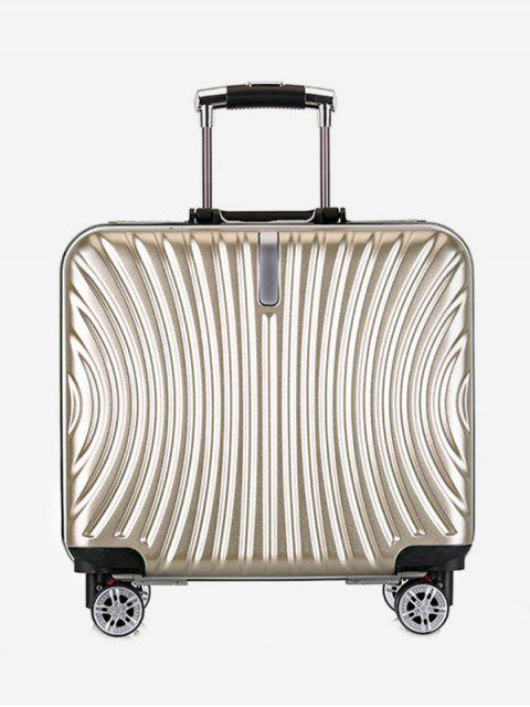 latest Functional Universal Wheel Travel Suitcase - GOLD  Mobile
