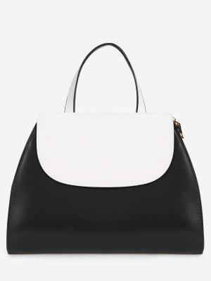Kontrastfarbene Allzweckhandtasche
