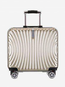 عالمية وظيفية حقيبة سفر العجلة - ذهب