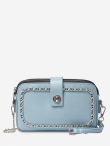 سلسلة الحد الأدنى الترفيهية التسوق حقيبة الرافعة - محيط أزرق