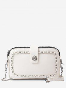 سلسلة الحد الأدنى الترفيهية التسوق حقيبة الرافعة - الأبيض الدافئ