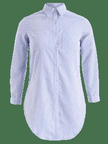 Hendidura Con Con Camisa Camisa De De T De Hendidura Hendidura Camisa T Con Rwxqg54C