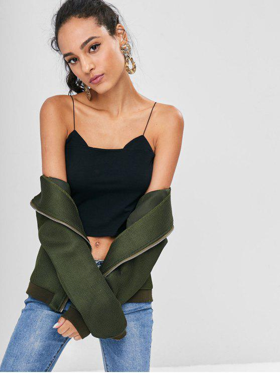 lady Cat Ears Cami Top - BLACK S