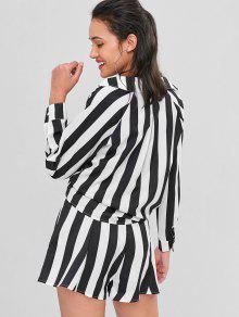 Ord S Multi Cortos Set Pantalones Tie Camisa Y Striped Tie Co wO0vnT