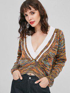 Heathered Chunky Sweater - Multi