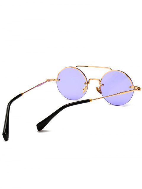 Occhiali Da Sole Non Cerchiati Rotondi Anti Stanchezza - Mimosa Viola  Mobile