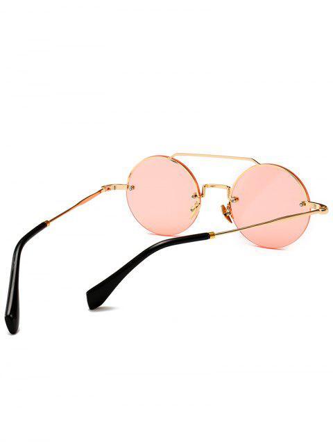 Occhiali Da Sole Non Cerchiati Rotondi Anti Stanchezza - Rosa  Mobile