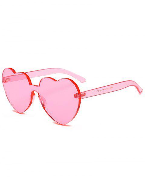 Lunettes de soleil anti-fatigue coeur une pièce - Rose Cochon  Mobile