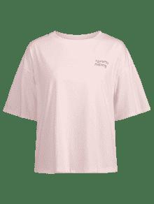 Nights M Gr Yummy 225;fica Rosado Camiseta CqwvTgzxx