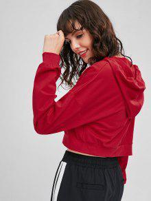 Y Rojo Cadena Capucha Cord Amo Con Con S Sudadera 243;n De Metal 4vqRZX7w