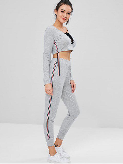 Sudadera y pantalón de chándal Pantalón de chándal - Gris L Mobile