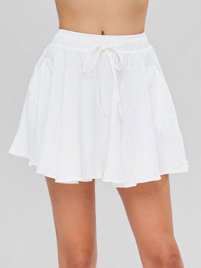 y Cintura para Alta Faldas MujerFaldas Mezclilla de Moda en de 7Yf6gyb