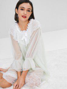 فستان من الدانتيل - ضوء سماوي