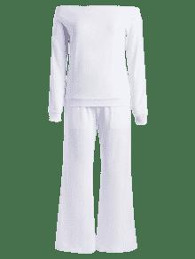Hombros Laterales S De De 243;n Sin Pantal Blanco Conjunto Rayas qP0Z1Pc