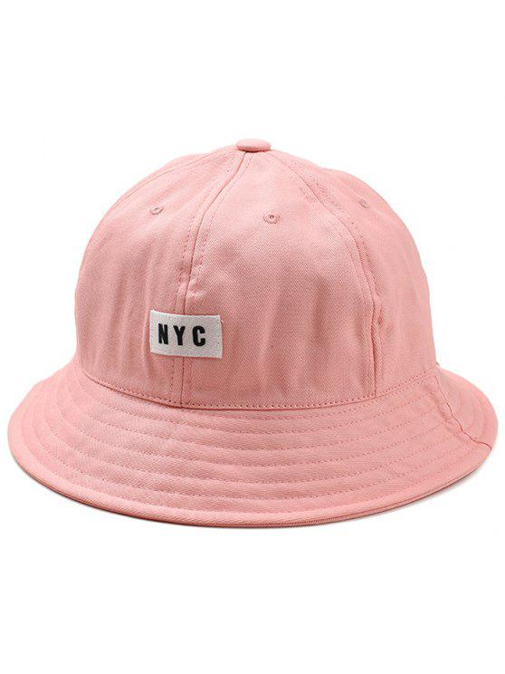 Leichter NYC Label Bucket Hat - Pink
