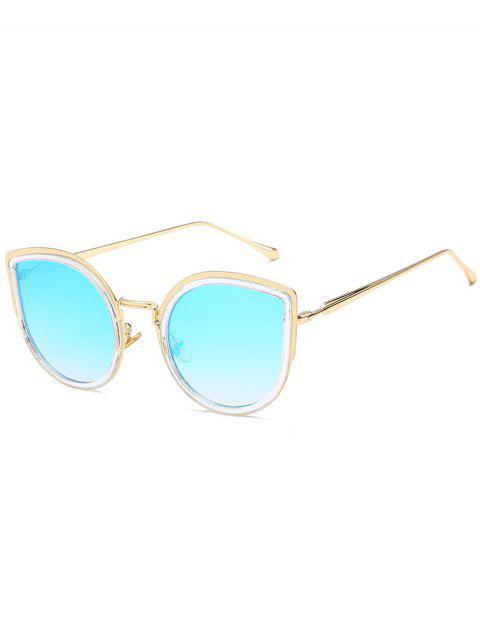 Lunettes de soleil Catty en alliage élégant - Bleu Ciel Léger   Mobile