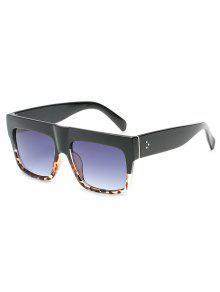 نظارة شمسية عريضة مقاس واحد - ضوء سليت رمادي