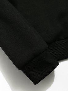 Flecha Bordado Xs Negro Sudadera De Punta Casual UUwqx1RH