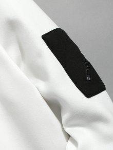 Mark Xs Print Pullover Garras Blanco Sweatshirt Sxdpvn6