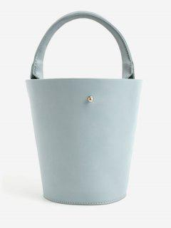 Minimalist Leisure Vacation Tote Bag - Baby Blue