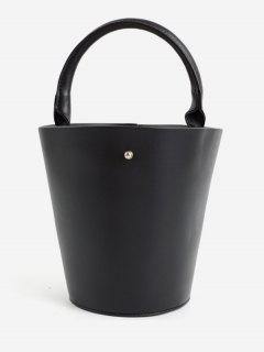 Minimalist Leisure Vacation Tote Bag - Black