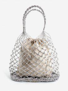 حقيبة يد من بودي هولو - بلاتين