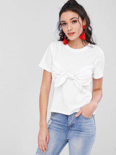 Camiseta Con Tirantes Bunny Tie - Blanco S