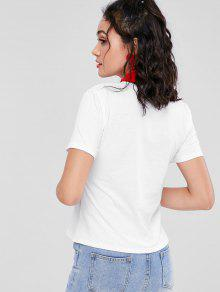 Tirantes Camiseta Con M Bunny Tie Blanco RZYpqwZ