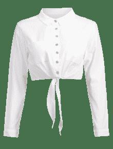 Cortada Blanco Con Xl Camisa Corbata dF6wdq
