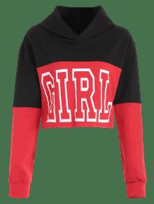 Hoodie Graphic Negro Tone Two S Chica 4Z1SR