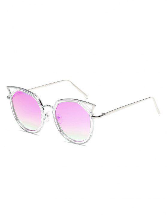 مكافحة التعب عبور الجوف خارج الإطار المعدني النظارات الشمسية - خبازي