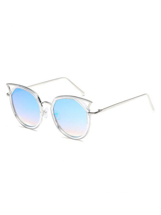 Fadiga Anti Oca Out Metal Quadro Catty Sunglasses - Azul de Céu Claro