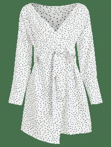 Nudos Anudado La De Blanco Sobrepelliz Vestido S Ft87Bx1nwq