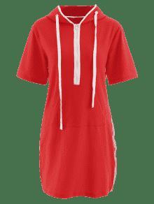 Bomberos De Medio S Sudadera De Panel Rayas Con Rojo 243;n Plateado Cami Vestido De De O4wpTxFq