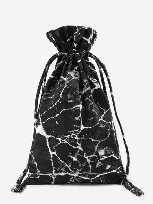 Sporttasche aus Marmor mit Kordelzug