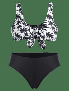En Bikini Nudo L Con De Palma Coco Plus De Negro Juego CTwq5Ia