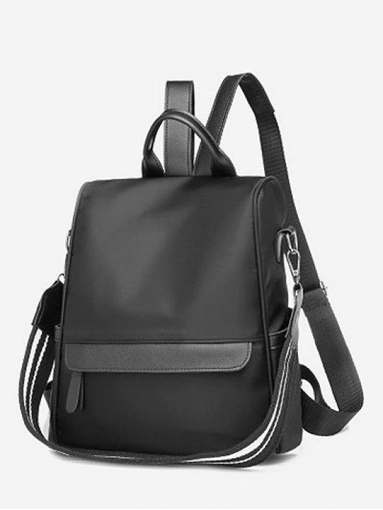 33% OFF  2019 All Purpose Solid Convertible Travel Backpack In BLACK ...